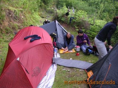 23 local de acampamento tardio